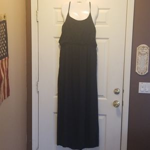 2 for $5 No Boundries black maxi dress